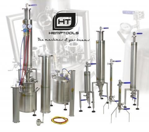 Equipos de extracción HempTools