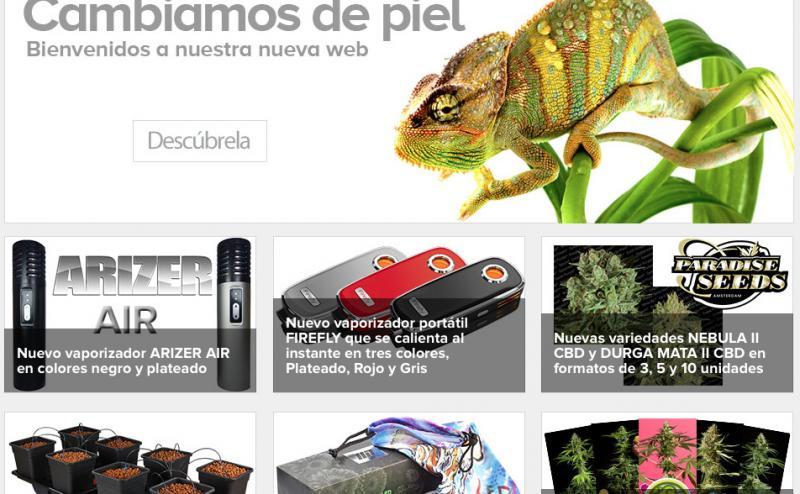 Plantasur homepage